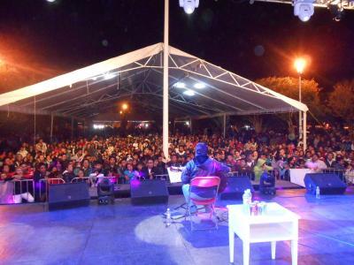 En la Feria del Maguey y la Cebada Apan 2013 - Marzo 30