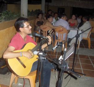 """En Restaurant """"Te-Apan"""" en Teapa, Tabasco"""
