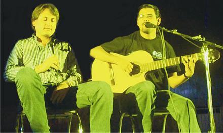 Palomazo con Francisco Xavier en el Auditorio Municipal de Apan