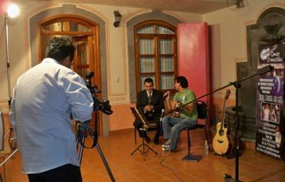 En Tv de Calpulalpan en Julio del 2010
