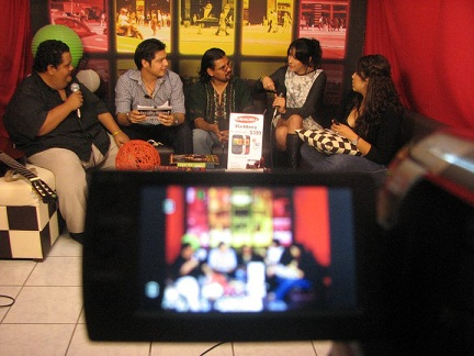 En 5Tv en Cozumel el 30 de Diciembre del 2010