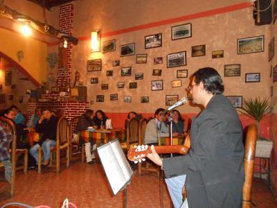 ENCUENTRO DE CANTAUTORES - Restaurant Fonda del Angel - Apan Marzo 14